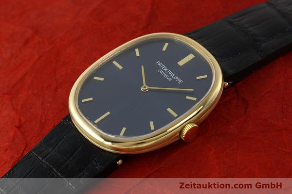 Used luxury watch Patek Philippe Ellipse 18 ct gold manual winding Kal. 215 Ref. 3848  | 150144 01
