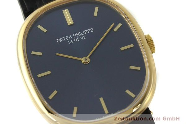 Used luxury watch Patek Philippe Ellipse 18 ct gold manual winding Kal. 215 Ref. 3848  | 150144 02