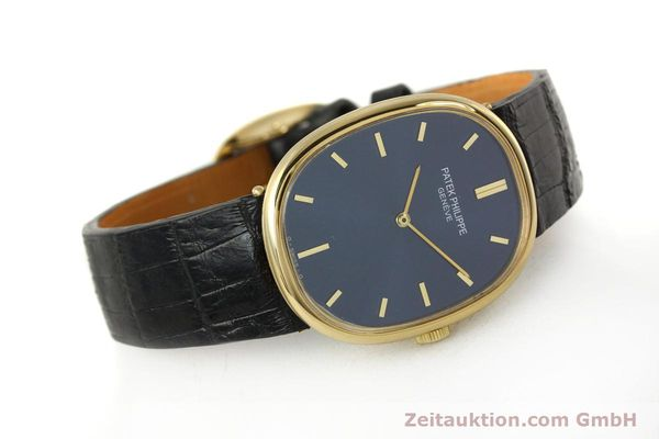 Used luxury watch Patek Philippe Ellipse 18 ct gold manual winding Kal. 215 Ref. 3848  | 150144 03