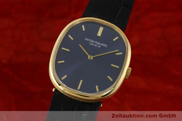 Used luxury watch Patek Philippe Ellipse 18 ct gold manual winding Kal. 215 Ref. 3848  | 150144 04