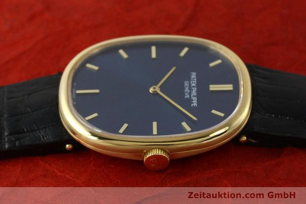 Used luxury watch Patek Philippe Ellipse 18 ct gold manual winding Kal. 215 Ref. 3848  | 150144 05