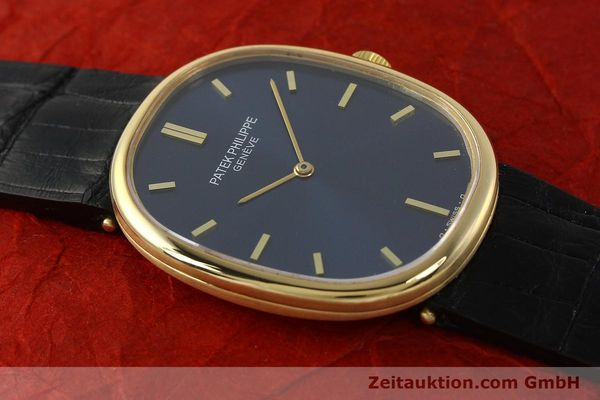 Used luxury watch Patek Philippe Ellipse 18 ct gold manual winding Kal. 215 Ref. 3848  | 150144 15