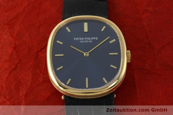 Used luxury watch Patek Philippe Ellipse 18 ct gold manual winding Kal. 215 Ref. 3848  | 150144 16