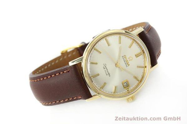 Used luxury watch Omega Seamaster 14 ct yellow gold automatic Kal. 562 VINTAGE  | 150151 03