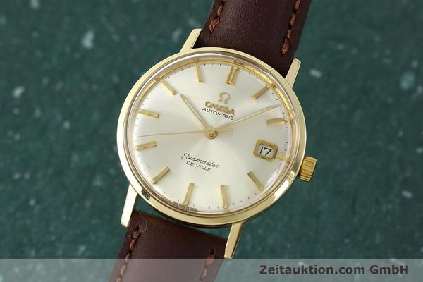 Used luxury watch Omega Seamaster 14 ct yellow gold automatic Kal. 562 VINTAGE  | 150151 04