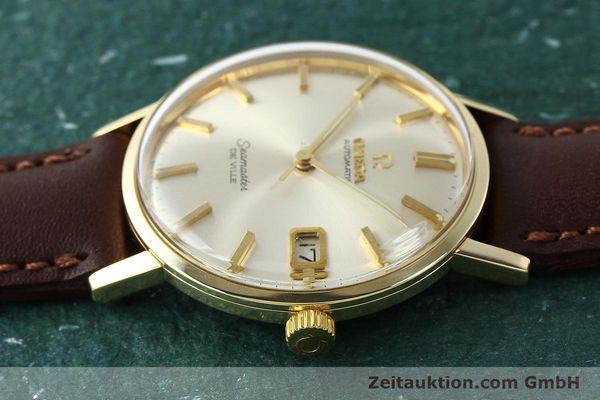 Used luxury watch Omega Seamaster 14 ct yellow gold automatic Kal. 562 VINTAGE  | 150151 05