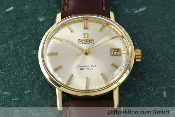 Used luxury watch Omega Seamaster 14 ct yellow gold automatic Kal. 562 VINTAGE  | 150151 14