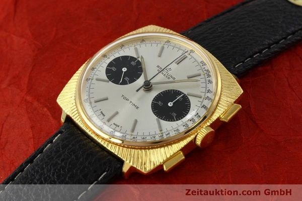 Used luxury watch Breitling Top Time chronograph gold-plated manual winding Kal. Valj. 7730 Ref. 2006 VINTAGE  | 150153 01