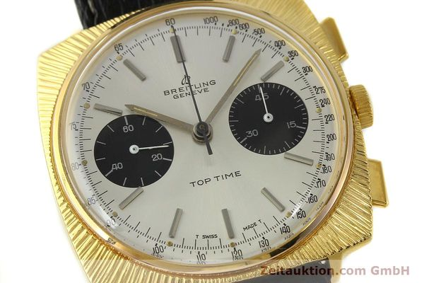 Used luxury watch Breitling Top Time chronograph gold-plated manual winding Kal. Valj. 7730 Ref. 2006 VINTAGE  | 150153 02
