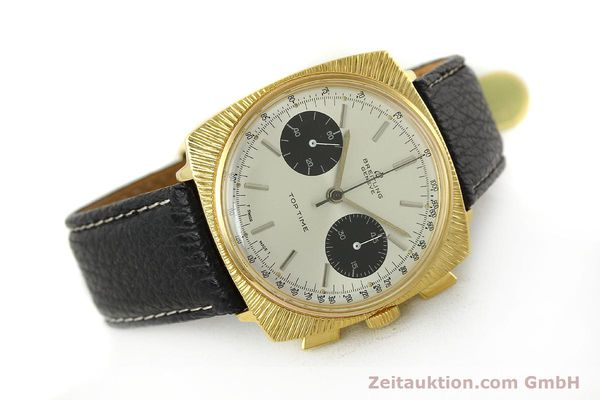 Used luxury watch Breitling Top Time chronograph gold-plated manual winding Kal. Valj. 7730 Ref. 2006 VINTAGE  | 150153 03