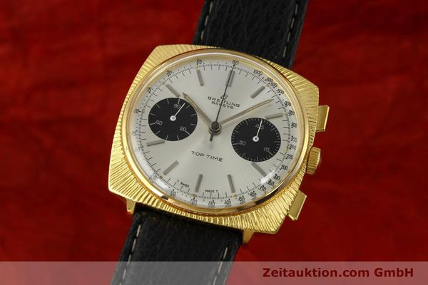 Used luxury watch Breitling Top Time chronograph gold-plated manual winding Kal. Valj. 7730 Ref. 2006 VINTAGE  | 150153 04