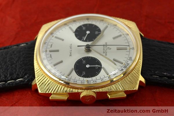 Used luxury watch Breitling Top Time chronograph gold-plated manual winding Kal. Valj. 7730 Ref. 2006 VINTAGE  | 150153 05