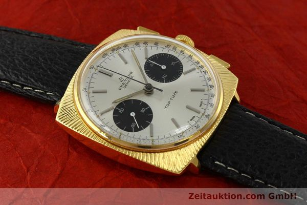 Used luxury watch Breitling Top Time chronograph gold-plated manual winding Kal. Valj. 7730 Ref. 2006 VINTAGE  | 150153 13