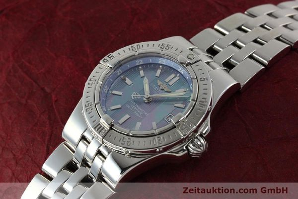 Used luxury watch Breitling Starliner steel quartz Kal. B71 ETA 956652 Ref. A71340  | 150154 01