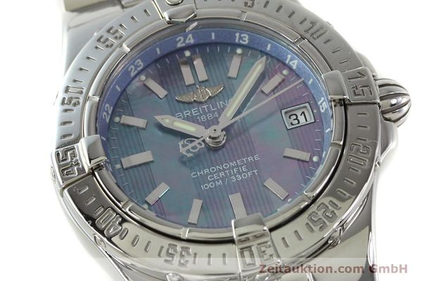 Used luxury watch Breitling Starliner steel quartz Kal. B71 ETA 956652 Ref. A71340  | 150154 02