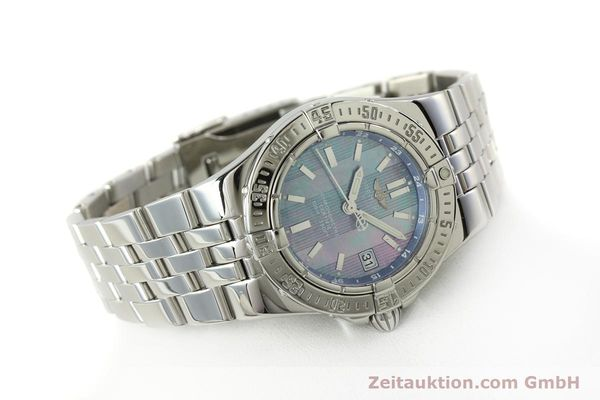 Used luxury watch Breitling Starliner steel quartz Kal. B71 ETA 956652 Ref. A71340  | 150154 03