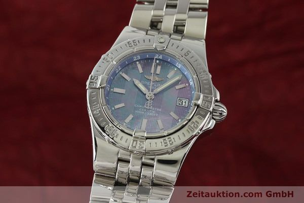 Used luxury watch Breitling Starliner steel quartz Kal. B71 ETA 956652 Ref. A71340  | 150154 04