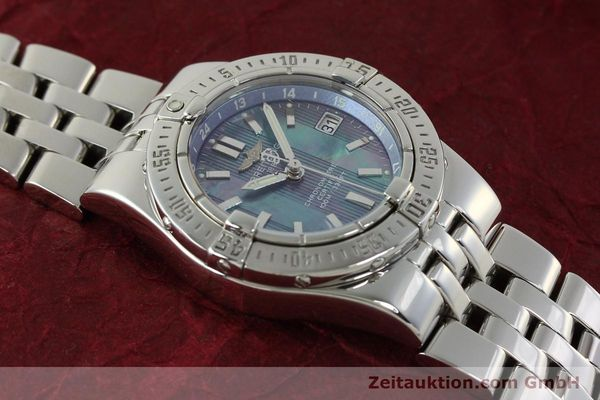 Used luxury watch Breitling Starliner steel quartz Kal. B71 ETA 956652 Ref. A71340  | 150154 13