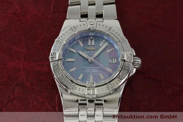 Used luxury watch Breitling Starliner steel quartz Kal. B71 ETA 956652 Ref. A71340  | 150154 14