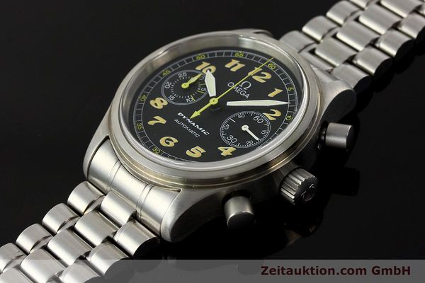 gebrauchte Luxusuhr Omega Dynamic Chronograph Stahl Automatik Kal. 1138  | 150155 01