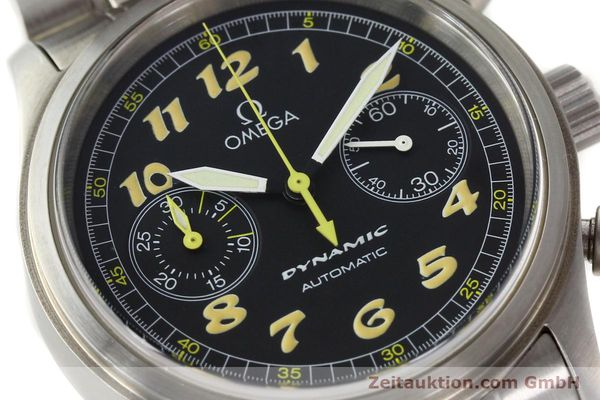 gebrauchte Luxusuhr Omega Dynamic Chronograph Stahl Automatik Kal. 1138  | 150155 02
