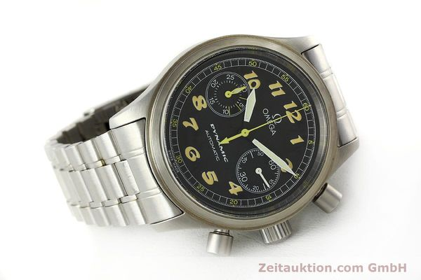 gebrauchte Luxusuhr Omega Dynamic Chronograph Stahl Automatik Kal. 1138  | 150155 03