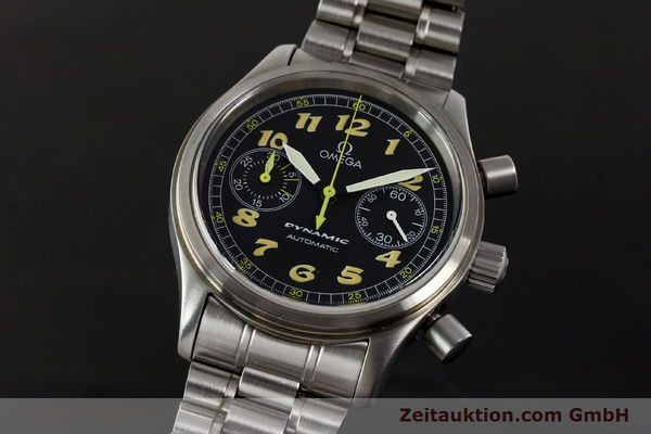 gebrauchte Luxusuhr Omega Dynamic Chronograph Stahl Automatik Kal. 1138  | 150155 04