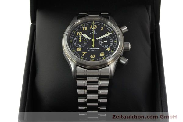 gebrauchte Luxusuhr Omega Dynamic Chronograph Stahl Automatik Kal. 1138  | 150155 07