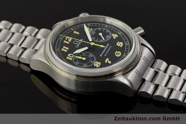 gebrauchte Luxusuhr Omega Dynamic Chronograph Stahl Automatik Kal. 1138  | 150155 15