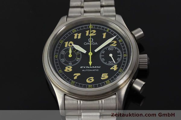 gebrauchte Luxusuhr Omega Dynamic Chronograph Stahl Automatik Kal. 1138  | 150155 16