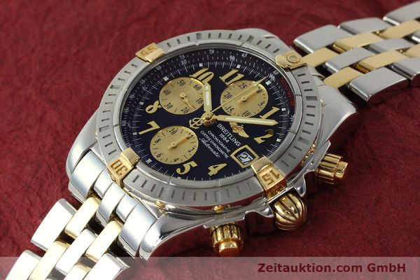 Used luxury watch Breitling Evolution chronograph steel / gold automatic Kal. B13 ETA 7750 Ref. B13356  | 150158 01
