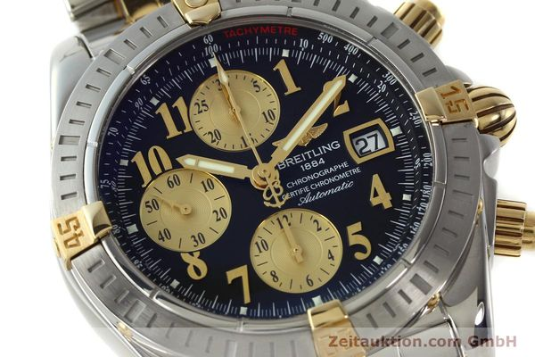 Used luxury watch Breitling Evolution chronograph steel / gold automatic Kal. B13 ETA 7750 Ref. B13356  | 150158 02