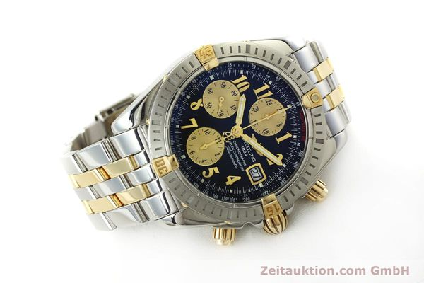 Used luxury watch Breitling Evolution chronograph steel / gold automatic Kal. B13 ETA 7750 Ref. B13356  | 150158 03
