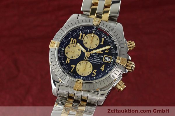 Used luxury watch Breitling Evolution chronograph steel / gold automatic Kal. B13 ETA 7750 Ref. B13356  | 150158 04