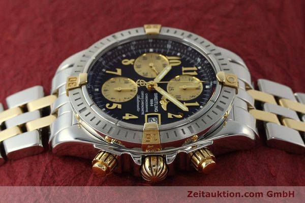 Used luxury watch Breitling Evolution chronograph steel / gold automatic Kal. B13 ETA 7750 Ref. B13356  | 150158 05