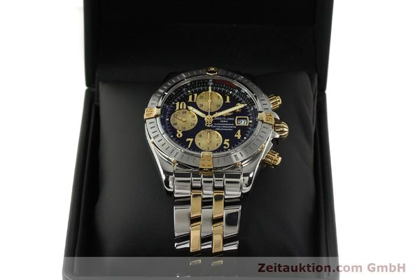 Used luxury watch Breitling Evolution chronograph steel / gold automatic Kal. B13 ETA 7750 Ref. B13356  | 150158 07