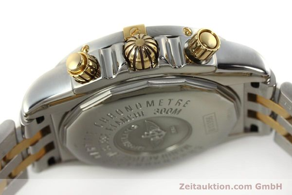 Used luxury watch Breitling Evolution chronograph steel / gold automatic Kal. B13 ETA 7750 Ref. B13356  | 150158 08