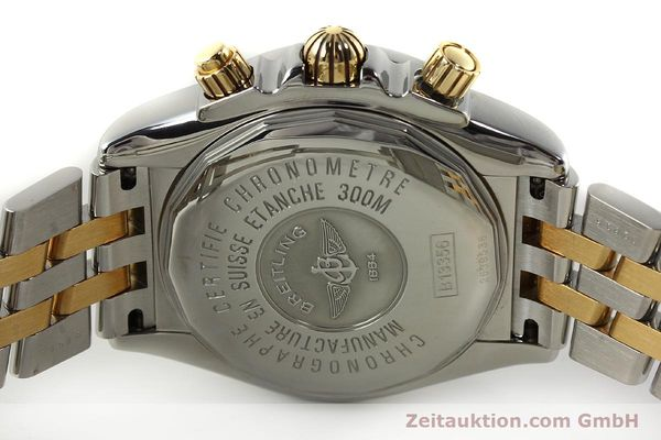 Used luxury watch Breitling Evolution chronograph steel / gold automatic Kal. B13 ETA 7750 Ref. B13356  | 150158 09