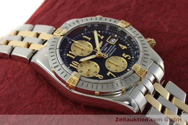 Used luxury watch Breitling Evolution chronograph steel / gold automatic Kal. B13 ETA 7750 Ref. B13356  | 150158 15