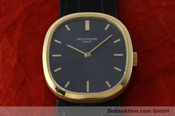 Used luxury watch Patek Philippe Ellipse 18 ct gold manual winding Kal. 23-300 Ref. 3548  | 150159 16