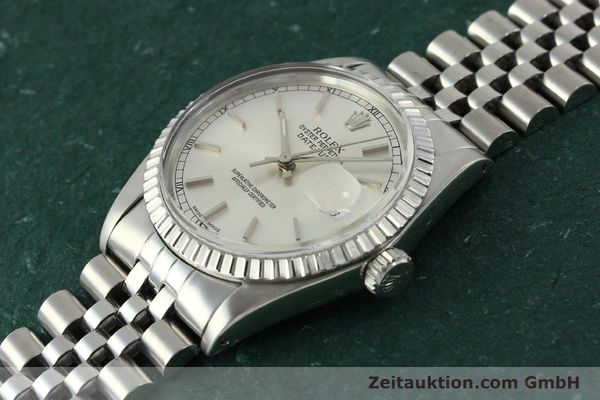 Used luxury watch Rolex Datejust steel automatic Kal. 3035 Ref. 16030  | 150160 01