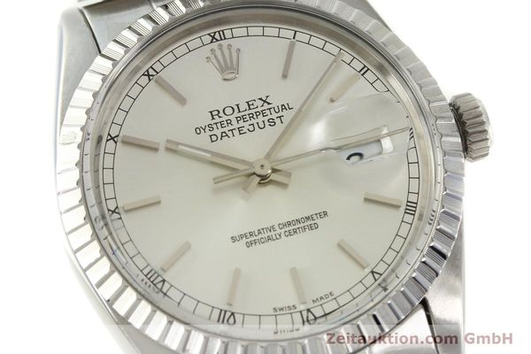 Used luxury watch Rolex Datejust steel automatic Kal. 3035 Ref. 16030  | 150160 02