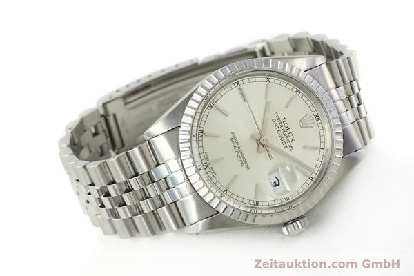 Used luxury watch Rolex Datejust steel automatic Kal. 3035 Ref. 16030  | 150160 03