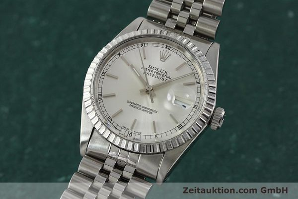 Used luxury watch Rolex Datejust steel automatic Kal. 3035 Ref. 16030  | 150160 04