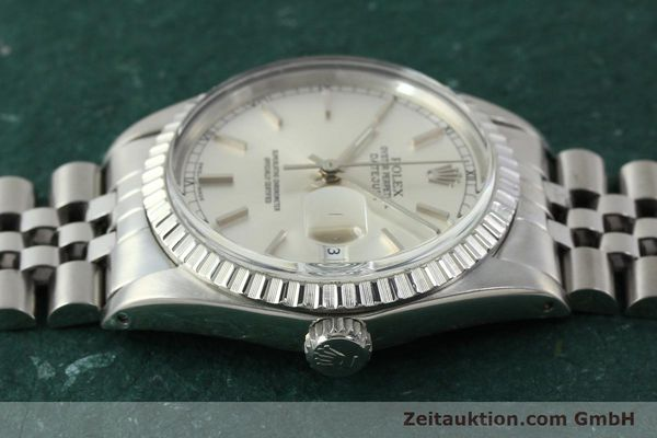 Used luxury watch Rolex Datejust steel automatic Kal. 3035 Ref. 16030  | 150160 05