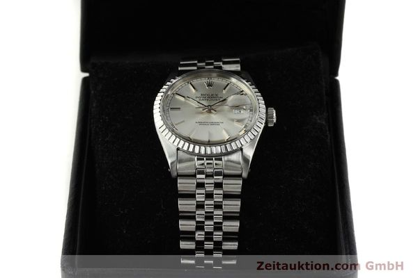 Used luxury watch Rolex Datejust steel automatic Kal. 3035 Ref. 16030  | 150160 07