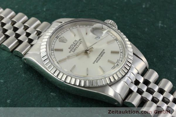 Used luxury watch Rolex Datejust steel automatic Kal. 3035 Ref. 16030  | 150160 16