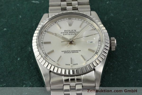 Used luxury watch Rolex Datejust steel automatic Kal. 3035 Ref. 16030  | 150160 17