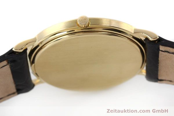 Used luxury watch Patek Philippe Calatrava 18 ct gold quartz Kal. E27 Ref. 3744  | 150162 11