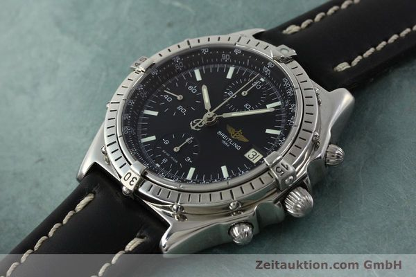 Used luxury watch Breitling Chronomat chronograph steel automatic Kal. B13 ETA 7750 Ref. A13050  | 150163 01